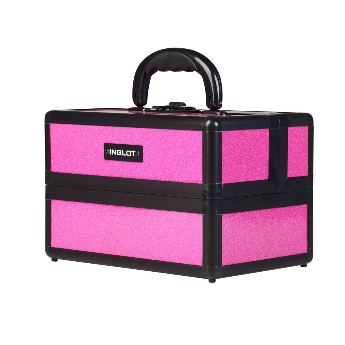 aed14675fb95 Sminkes bőrönd Shiny Pink Small (KC-MSM01) - INGLOT Magyarország
